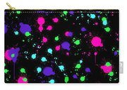 Colorful Paint Splatters Carry-all Pouch