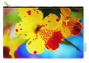 Colorful Pansies Carry-all Pouch