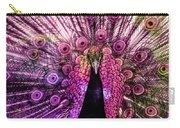 Colorful Peacock Carry-all Pouch