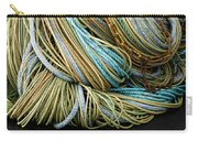 Colorful Pile Of Fishing Nets And Ropes Carry-all Pouch