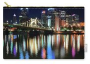 Colorful Pittsburgh Lights Carry-all Pouch