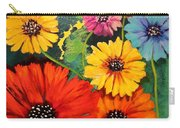 Colorful Poppy Warm No.1 Carry-all Pouch