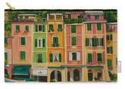 Colorful Portofino Carry-all Pouch by Charlotte Blanchard