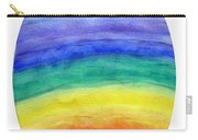 Colorful Rainbow Colored Egg Carry-all Pouch
