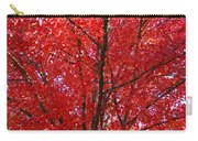Colorful Red Orange Fall Tree Leaves Art Prints Autumn Carry-all Pouch