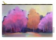 Colorful Reflection Carry-all Pouch by Michelle Abrams