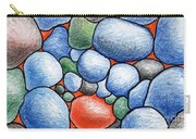 Colorful Rock Abstract Carry-all Pouch
