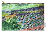 Colorful Rock Garden Carry-all Pouch