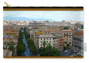 Colorful Rome Cityscape Carry-all Pouch