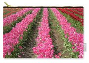 Colorful Rows Of Tulips Carry-all Pouch