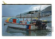 Colorful Saint Martin Power Boat Caribbean Carry-all Pouch