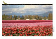 Colorful Skagit Valley Tulip Fields Panorama Carry-all Pouch