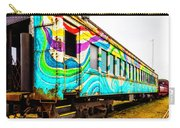 Colorful Skunk Train Passenger Car Carry-all Pouch