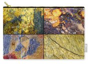 Colorful Slate Tile Abstract Composite Sq1 Carry-all Pouch