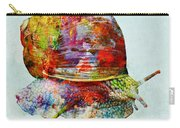 Colorful Snail Art  Carry-all Pouch