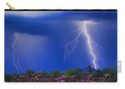 Colorful Sonoran Desert Storm Carry-all Pouch