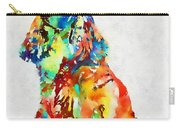 Colorful Spaniel Carry-all Pouch