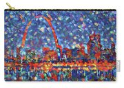Colorful St Louis Skyline Carry-all Pouch