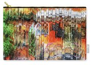 Colorful Street Cafe Carry-all Pouch