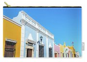 Colorful Street In Campeche, Mexico Carry-all Pouch