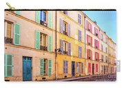 Colorful Street In Paris Carry-all Pouch