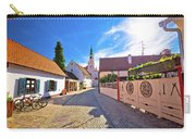 Colorful Street Of Baroque Town Varazdin View Carry-all Pouch