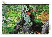 Colorful Stump Carry-all Pouch