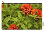 Colorful Summer Flowers Carry-all Pouch