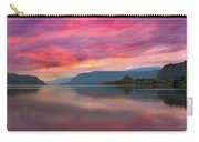 Colorful Sunrise At Columbia River Gorge Carry-all Pouch