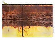 Colorful Sunrise Textured Reflections Carry-all Pouch