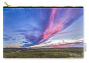 Colorful Sunset At The Reesor Ranch Carry-all Pouch