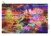 Colorful Sunset Debris  Carry-all Pouch