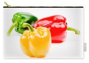 Colorful Sweet Peppers Carry-all Pouch