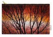 Colorful Tree Branches Carry-all Pouch