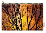 Colorful Tree Silhouettes Carry-all Pouch