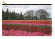 Colorful Tulips Blooming At Tulip Festival Carry-all Pouch