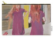 Colorful Twins Carry-all Pouch