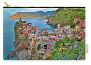 Colorful Vernazza From Behind Carry-all Pouch