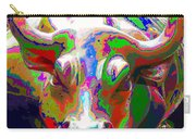 Colorful Wall Street Bull Carry-all Pouch