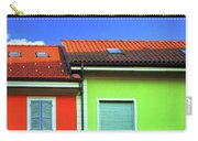 Colorful Walls And A Cloud Carry-all Pouch