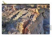 Colorful Wave Of Sandstone In Valley Of Fire State Park Carry-all Pouch