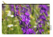 Colorful Wild Flowers Spring Scene Carry-all Pouch
