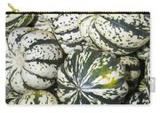 Colorful Winter Acorn Squash On Display Carry-all Pouch