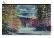 Colorful Winter Wonderland Carry-all Pouch