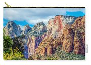 Colorful Zion Canyon National Park Utah Carry-all Pouch