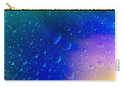 Colorfull Water Drop Background Abstract Carry-all Pouch