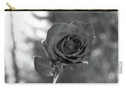 Colorless Rose Carry-all Pouch