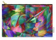 Colors And Geometries For A Violin  Carry-all Pouch
