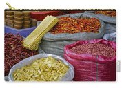 Colors In A Chinese Market Carry-all Pouch