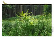 Colors Of A Forest In Vogelsberg Carry-all Pouch